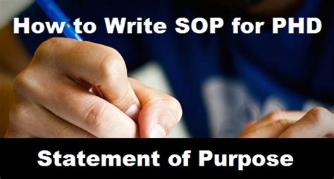 SoP for MBA Admission Essay Writing - Statement of Purpose